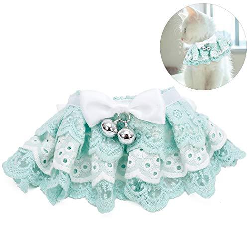 Legendog Pet Collar Fashion Creative Decorative Lace Designed Cat Collar Pet Bib