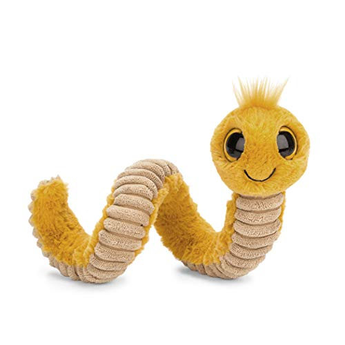 - Jellycat Wiggly Worm Stuffed Animal, Yellow, 12 inches