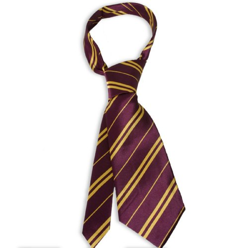 [Rubie's Harry Potter Gryffindor Tie] (Harry Potter Halloween Costumes Hermione)