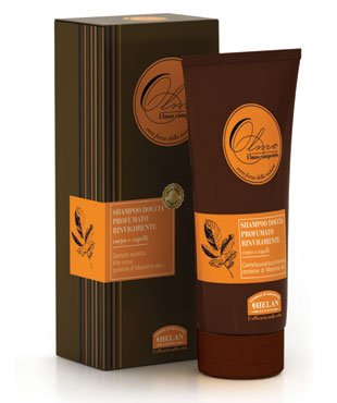 739ef9b8c4e Helan Naturals Olmo (Italian for Elm) Fragranced for Men Sulfate Free  Shampoo