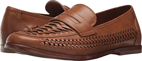 Steve Madden Men's Krieg Cognac 11 D US (Leather Woven Footwear)