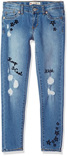 Levi's Girls' Big 710 Super Skinny Fit Jeans, Highlights, 12]()
