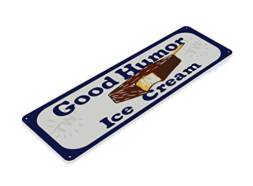 Tinworld Tin Sign Good Humor Ice Cream Retro Store Metal Sign Decor Kitchen Cottage Farm B722