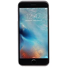 Apple iPhone 6S, 64GB, Space Gray - For AT&T (Renewed) 3 <p>The moment you use iPhone 6s, you know you've never felt anything like it. With just a single press, 3D Touch lets you do more than ever. Live Photos brings your memories to life in a powerfully vivid way. And that's just the beginning. Take a deeper look at iPhone 6s, and you'll find innovation on every level. The seamless design is made from a new alloy of 7000 series aluminum. The 4.7-inch and 5.5-inch Retina HD displays are constructed with the strongest cover glass used in any smartphone. The world's most advanced mobile operating system gets major enhancements to an already great set of built-in apps, a smarter Siri and search, and much more. This device is locked to AT&T only and not compatible with any other carrier. The device does not come with headphones or a SIM card. It does include a charger and charging cable that may be generic, in which case it will be UL or Mfi (Made for iPhone) Certified. Inspected and guaranteed to have minimal cosmetic damage, which is not noticeable when the device is held at arms length. Successfully passed a full diagnostic test which ensures like-new functionality and removal of any prior-user personal information. Tested for battery health and guaranteed to have a minimum battery capacity of 80%.</p>