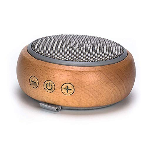 SMLYYX Bluetooth Speaker Wooden with Built-in Microphone AUX Line TF Card Punction and Heavy Bass Compatible with All Bluetooth iOS Devices Android Devices and MP3 Players Portable Speaker