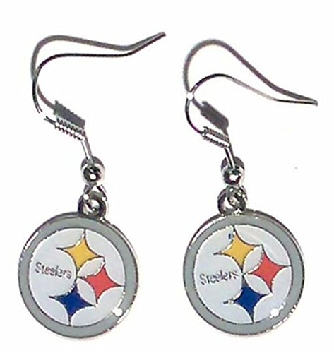 Pittsburgh Nfl Steelers Candle (NFL Pittsburgh Steelers Logo Dangler Earrings)
