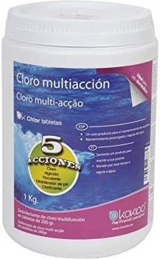 Cloro Multiaccion Tabletas 200 Gr. 1 Kg.: Amazon.es: Juguetes y juegos