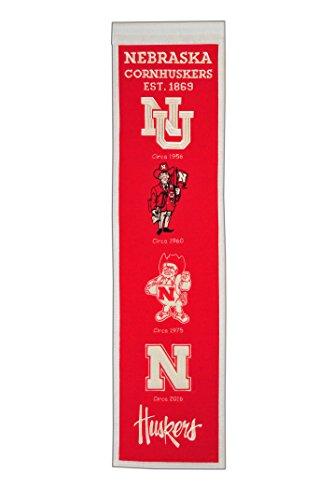 NCAA Nebraska Cornhuskers Heritage Banner