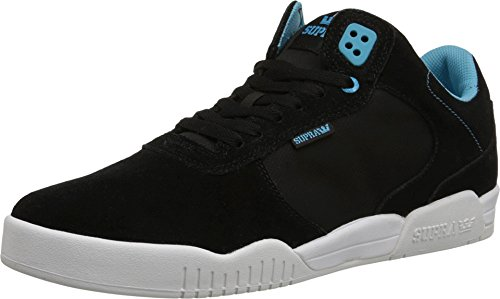 Supra ELLINGTON Black / blue atoll - white Fallwinter 2015 - 9.5