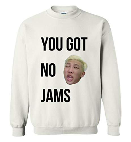 d0217307c8ed The Incredible BTS You Got No Jam RM Meme Sweatshirt Jin Suga J-Hope Jimin