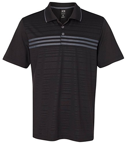 Adidas Golf Puremotion 3-Stripes Chest Polo (Adidas 3 Stripe Polo)