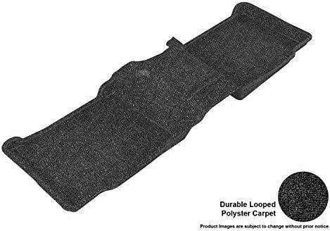 L1FR03602209 3D MAXpider Complete Set Custom Fit Floor Mat for Select Ford Explorer Models Classic Carpet Black