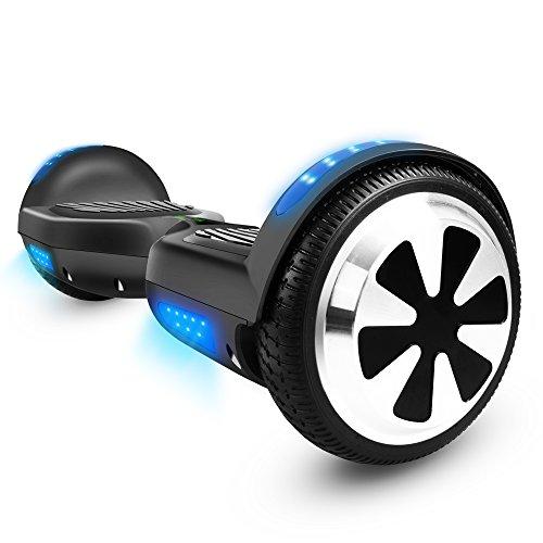 Veeko Hoverboard Two-wheel Self Balancing Scooter with UL2272 Certified 6.5' Wheel Electric...
