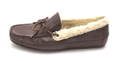 Slippers On Fur Slip Womens Griffin Haan Chestnut Slipper Cole Toe Closed RwzUZnq