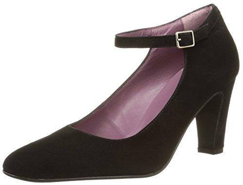 702981d0fc48 Studio Paloma 19681 - Zapatos de Vestir de terciopelo mujer negro - Noir ( Ante Negro