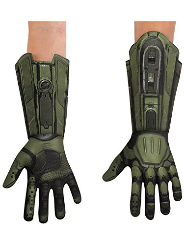 Disguise HALO Master Chief Deluxe Child Gloves, One Size