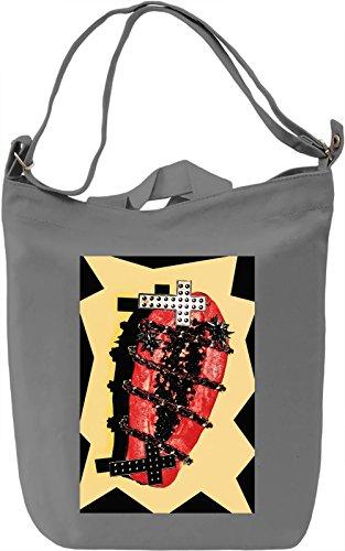 Food And Religion Borsa Giornaliera Canvas Canvas Day Bag| 100% Premium Cotton Canvas| DTG Printing|