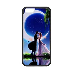 iPhone 6 Plus 5.5 Inch Cases Cell phone Case Boy and girl 's love Kzfdo Plastic Durable Cover