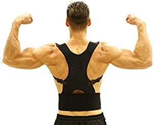 Back Brace Posture Corrector with Fully Adjustable Magnetic Braces to Support Pain Relief on Back Sweepstakes