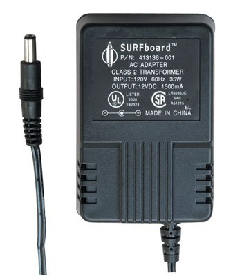 Jameco Reliapro DDU120150 AC-to-DC Power Supply Wall Adapter Transformer, Unregulated, Linear, 2.5 mm Female Connector, 18 Watt, 1.5 Amp, 12 Volt, 3.4