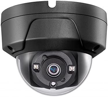 4MP PoE Security IP Camera – Compatible with Hikvision Performance Series DS-2CD2145FWD-I Black Mini Dome EXIR Night Vision 2.8mm Fixed Lens H.265 3 Year Warranty