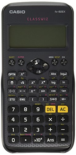 Casio FX-82EX-S-MH Calculadora Científica, Color Negro