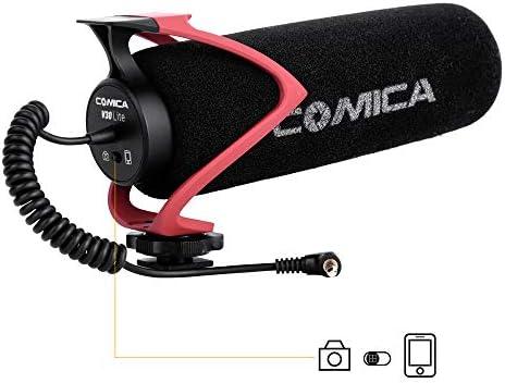 Micrófono de cámara Comica CVM-V30 Lite R Micrófono de Video ...