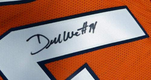 DeMarcus Ware Signed Jersey Orange Stock #121079 PSA/DNA Certified Autographed NFL Jerseys