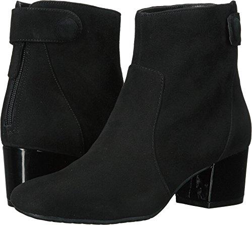 Bandolino Womens Fauna Leather Closed Toe Ankle Fashion, Black Su, Size ()