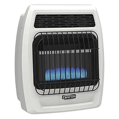 Dyna Glo BFSS10LPT-2P 10,000 Btu Liquid Propane Blue Flame Vent Free Thermostatic Wall Heater 10K LP T-Stat