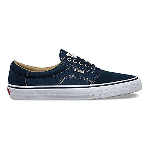 Vans Rowley (Solos) Navy White Skate Shoes-Men (Medium / 7 D(M) US) -