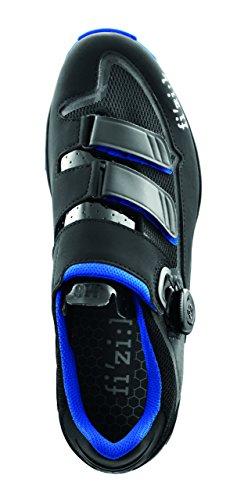 Fizik M6B MTB Schuhe Herren anthrazite/blau Größe 47 2017 Mountainbike-Schuhe
