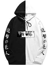 Heren Attack on Titan Hoodie Cosplay Anime Manga Print Hooded Levi Ackerman Sweatshirt Jumper Gedrukt Kleur Voor Volwassen