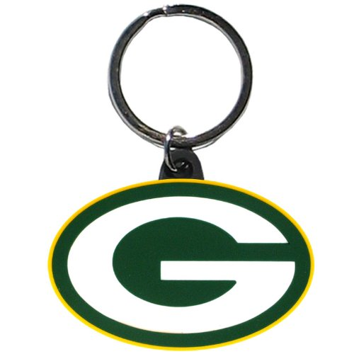 NFL Green Bay Packers Flex Rubber Key Chain