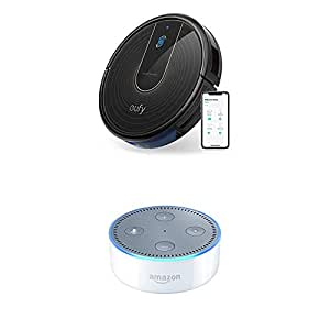 eufy BoostIQ RoboVac 15C Bundle with Echo Dot (2nd Generation)