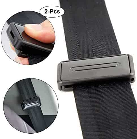 Sticks Upright 7//8 Inch Metal Tongue Width Extend Belt - E-Mark Safety Certified Rigid 8 Seat Belt Lengthening Accessory Buckle Up /& Drive Safely Again