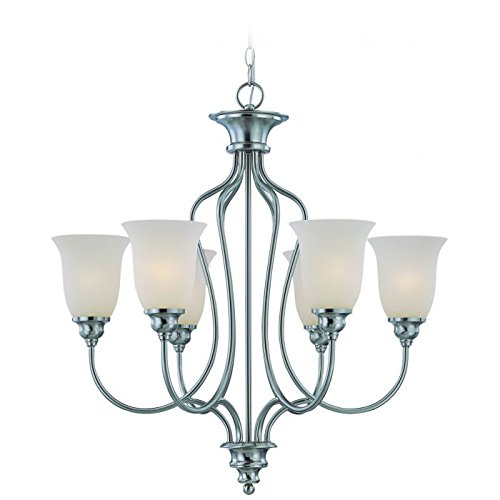 Amazon.com: Craftmade Lighting 26326-sn Linden Lane – seis ...