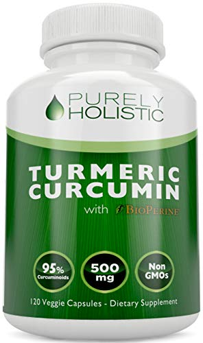 Turmeric Curcumin Capsules ★ 100% MONEY BACK GUARANTEE ★ – with BioPerine Black Pepper Extract, Aids Absorption – Without This it Won't Work.120 Veggie 500mg Turmeric Supplement, 95% Curcuminoids Review