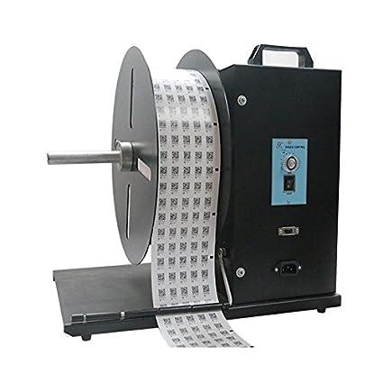 cgoldenwall U9 carrete enrollador automático etiqueta de vinilo máquina velocidad ajustable doble etiqueta código de barras