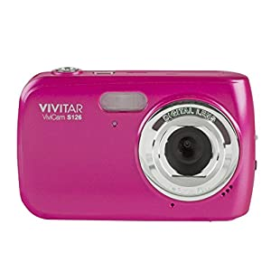 Vivitar VF128-PNK 16.1MP HD Digital Camera with 2.7-Inch LCD Touchscreen, Colors/Styles May Vary