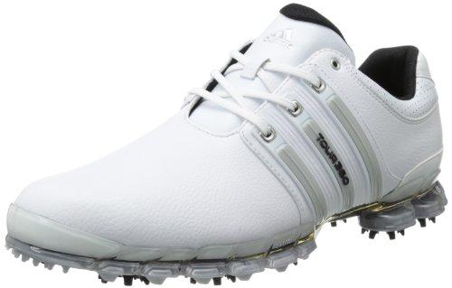 Adidas Men's Tour 360 ATV M1 Golf ShoeWhite/Metallic Silv...