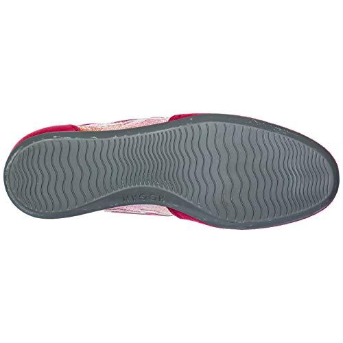 Baskets en Femme Chaussures Olympia Daim Sneakers Fuxia Hogan vUxRWwR