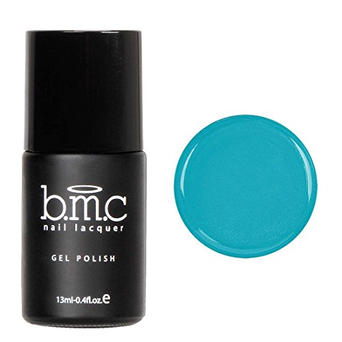 Laguna Led (BMC Cute Clear Blendable Laguna Blue Sheer Tints UV/LED Soak Off Gel Polish - Mosaic Glass, Sea You Clearly)