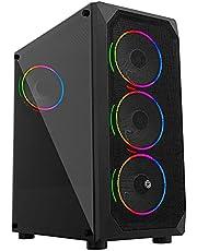 Frisby FC-9365G Gaming Kasa Double Slim Ring RGB Fan (Boş Kasa)