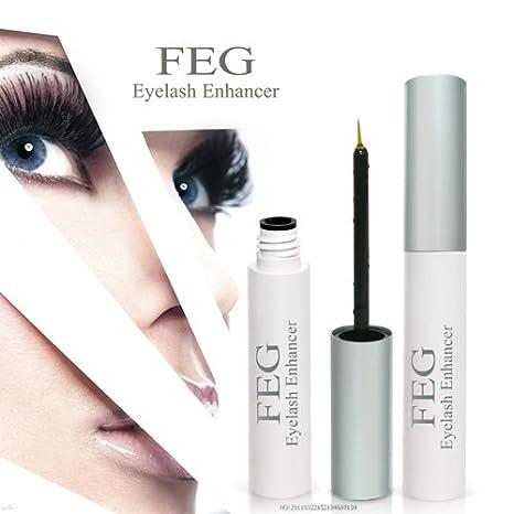 0f0fe809c82 FEG - Eyelash Enhancer 100% Natural Pestañas Suero - Fortalecimiento de las  pestañas y las pestañas se ...