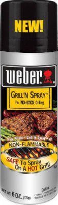 Weber Grill'N Spray 6oz by WEBBER