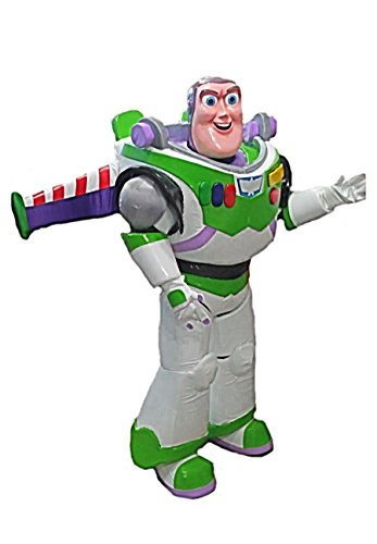KF Buzz Lightyear Mascot Costume Adult Cartoon Character]()