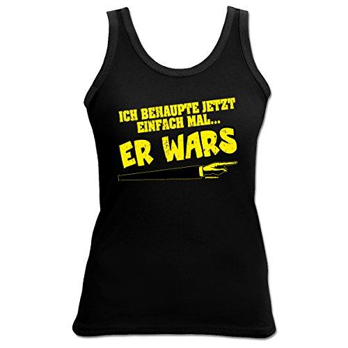 Damen Tank Top Shirt Er wars 4 Girls Beach Tanktop Geschenk geil bedruckt Goodman Design