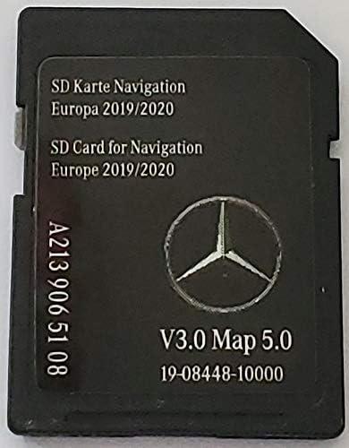 Tarjeta SD GPS Mercedes - NTG5.5 - Europe 2019-2020 v5 - A2139065108: Amazon.es: Electrónica