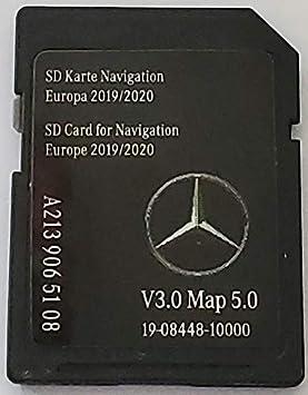 SD Karte GPS Ford FX Europe 2019